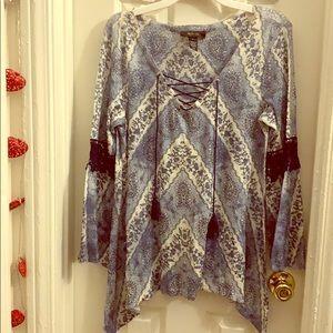 Style & Co Boho Tunic
